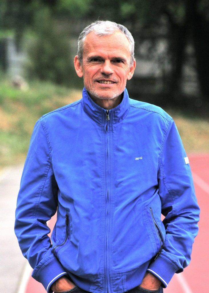 Portrait entraîneur demi-fond - Alain Samuel